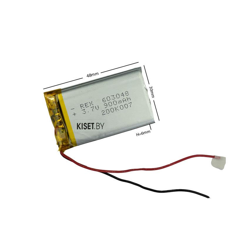 Аккумулятор Li-Pol со шлейфом 3pin 603048 900mAh 3.7V