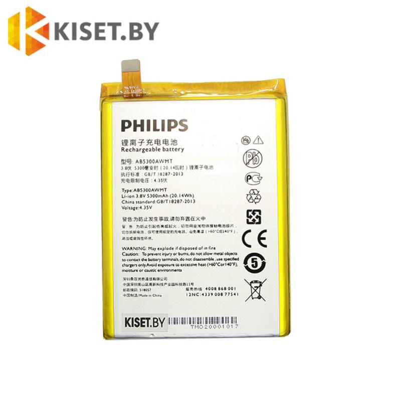 Аккумулятор AB5300AWMT для PHILIPS Xenium W6610