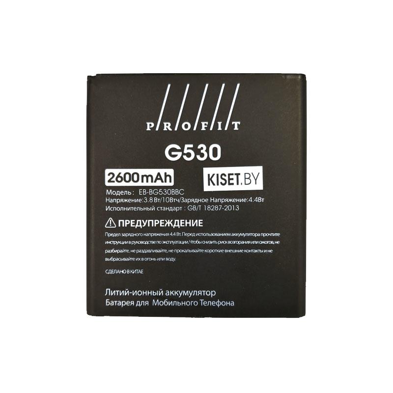 Аккумулятор PROFIT EB-BG530BBC для SAMSUNG G530 Grand Prime / J3 (2015) / J5 (2015) / J320 / J2 Prime / J3 (2016)