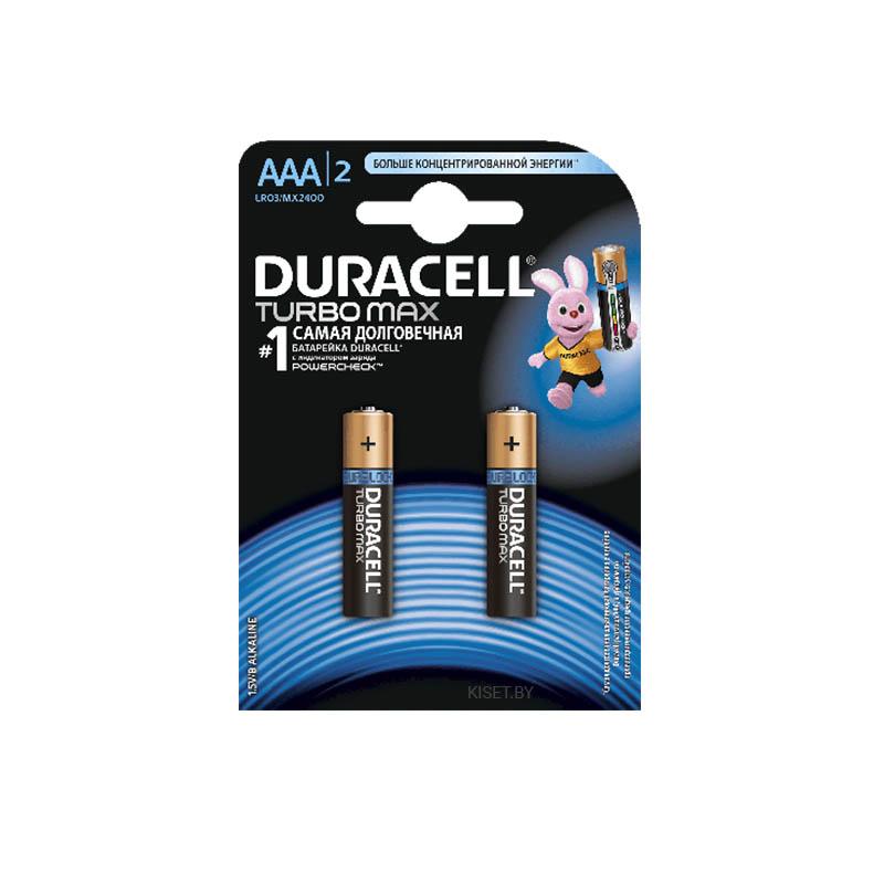 Батарейка AAA Duracell ULTRA LR03 MX2400 2 шт.