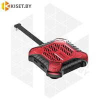 Адаптер-разветвитель Baseus X-Men ACSR-XJ09 Lightning черно-красный