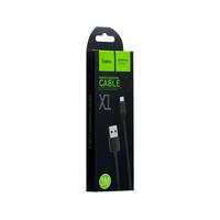 Кабель HOCO X1 Micro-USB 2.1A 1m черный