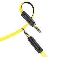 Кабель HOCO UPA16 3,5mm AUX 2m желтый