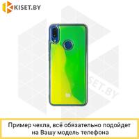 Силиконовый чехол Neon Sand для Samsung Galaxy A21S / A217 зеленый