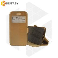 Чехол-книжка Experts Book Slim case для Samsung Galaxy  A21S / A217 золотой
