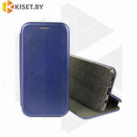 Чехол-книжка Book Case 3D с визитницей для Samsung Galaxy A21S / A217 синий