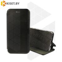 Чехол-книжка Book Case 3D с визитницей для Samsung Galaxy A21 / A215 черный