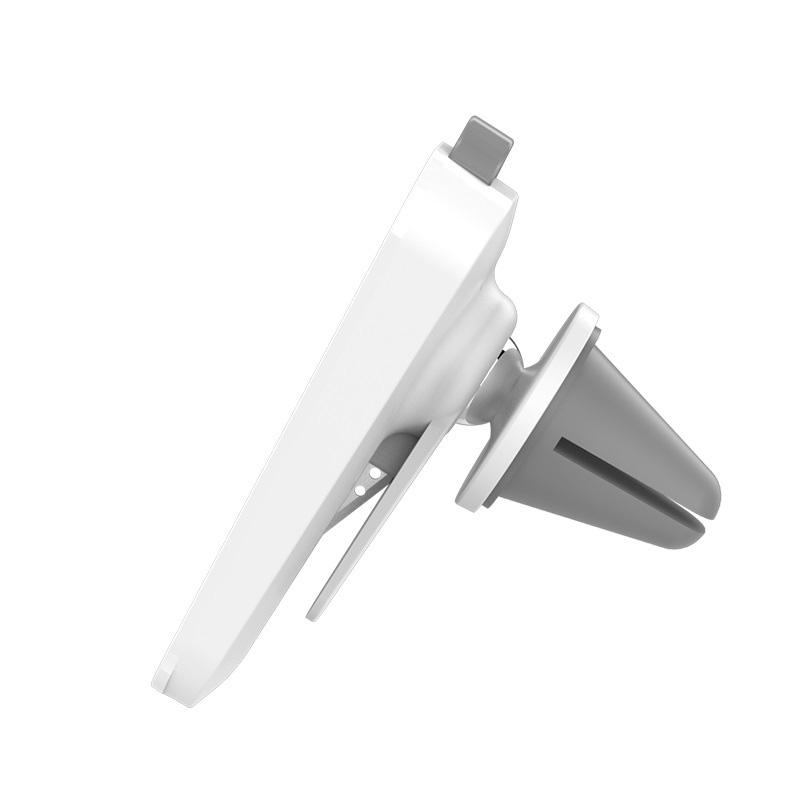 Держатель для телефона автомобильный магнитный Hoco CA37 в воздуховод белый