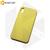 Бампер Silicone Case для iPhone Xr холодный лимонад #37