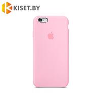 Бампер Silicone Case для iPhone 6 / 6s розовый песок #19