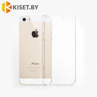 Силиконовый чехол Ultra Thin TPU для iPhone 5 / 5s прозрачный