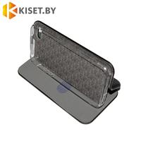 Чехол-книжка Book Case 3D с визитницей для iPhone 5 / 5s черный