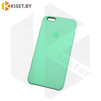 Бампер Silicone Case для iPhone 6 / 6s нефритовый #50