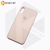 Бампер Silicone Case для iPhone X / Xs розовый песок #19