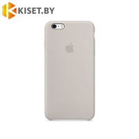 Бампер Silicone Case для iPhone 6 / 6s бежевый #10