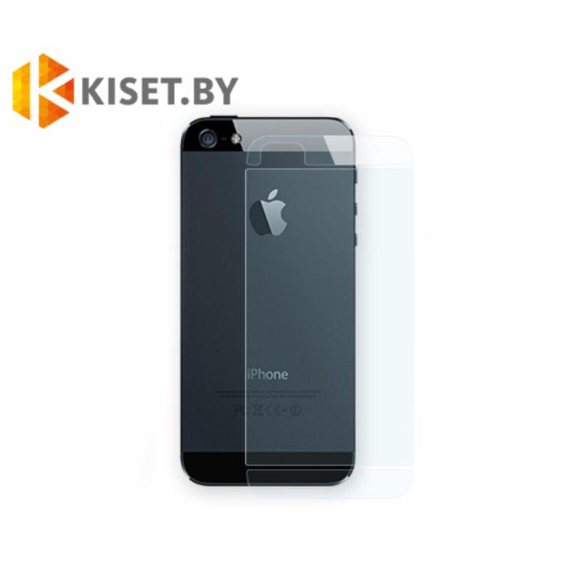 Защитная пленка на заднюю крышку для Apple iPhone 5 / 5s / SE, матовая