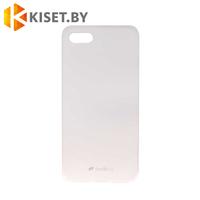 Силиконовый чехол матовый для Apple iPhone 6/6s, прозрачный