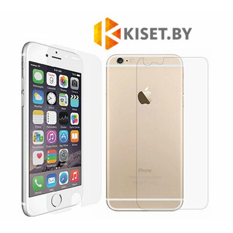 Защитная пленка для Apple iPhone 6 Plus / 6s Plus (комплект на две стороны), матовая