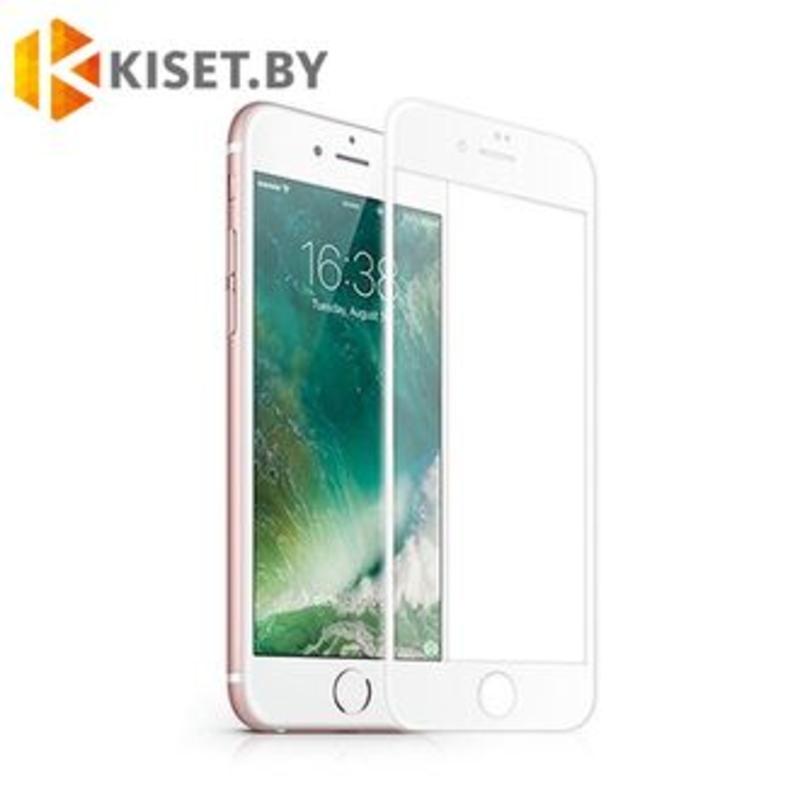 Защитное стекло Full Screen 5D для Apple iPhone 6/6s, белое