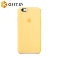 Бампер Silicone Case для iPhone 6 / 6s, желтый