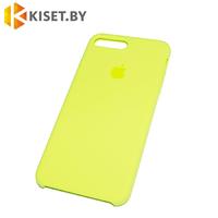 Бампер Silicone Case для iPhone 7 Plus / 8 Plus холодный лимонад #37
