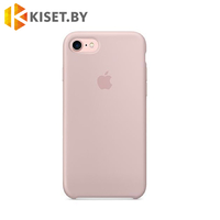 Бампер Silicone Case для iPhone 7 / 8 / SE (2020) розовый песок #19