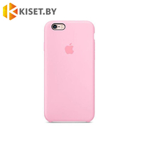 Бампер Silicone Case для iPhone 6 Plus / 6s Plus, розовый