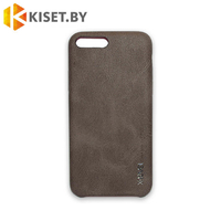 Чехол-накладка X-Level VINTAGE для Apple iPhone 7 Plus / 8 Plus, шоколадный