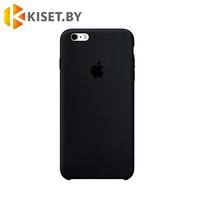 Бампер Silicone Case для iPhone 6 / 6s, черный