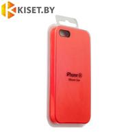 Бампер Silicone Case для iPhone 5 / 5s, красный
