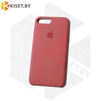 Бампер Silicone Case для iPhone 7 Plus / 8 Plus красная роза #25