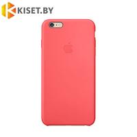 Бампер Silicone Case для iPhone 6 / 6s, коралловый