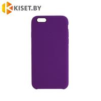 Бампер Silicone Case для iPhone 6 / 6s, фиолетовый
