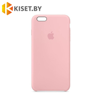 Бампер Silicone Case для iPhone 6 / 6s, розовый