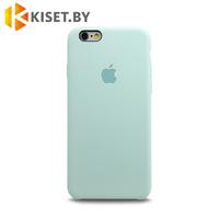 Бампер Silicone Case для iPhone 6 / 6s бирюзовый #21