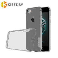 Силиконовый чехол Nillkin TPU Nature для Apple iPhone 6 Plus / 6s Plus, серый