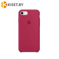 Бампер Silicone Case для iPhone 6 / 6s красная роза #25