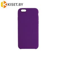Бампер Silicone Case для iPhone 5 / 5s, фиолетовый