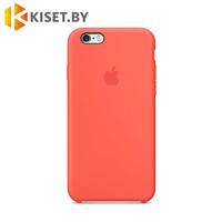 Бампер Silicone Case для iPhone 6 / 6s оранжевый #2