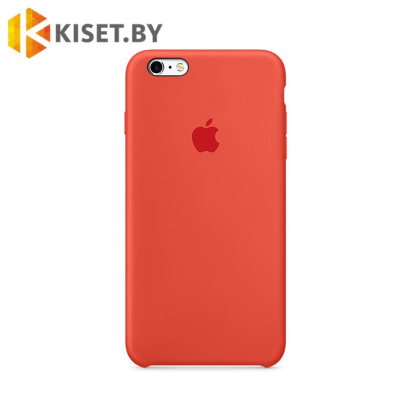 Бампер Silicone Case для iPhone 7 / 8 / SE (2020) оранжевый шафран #13