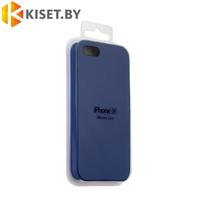 Бампер Silicone Case для iPhone 5 / 5s синий #40