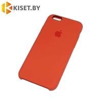 Бампер Silicone Case для iPhone 6 / 6s сочный персик #27