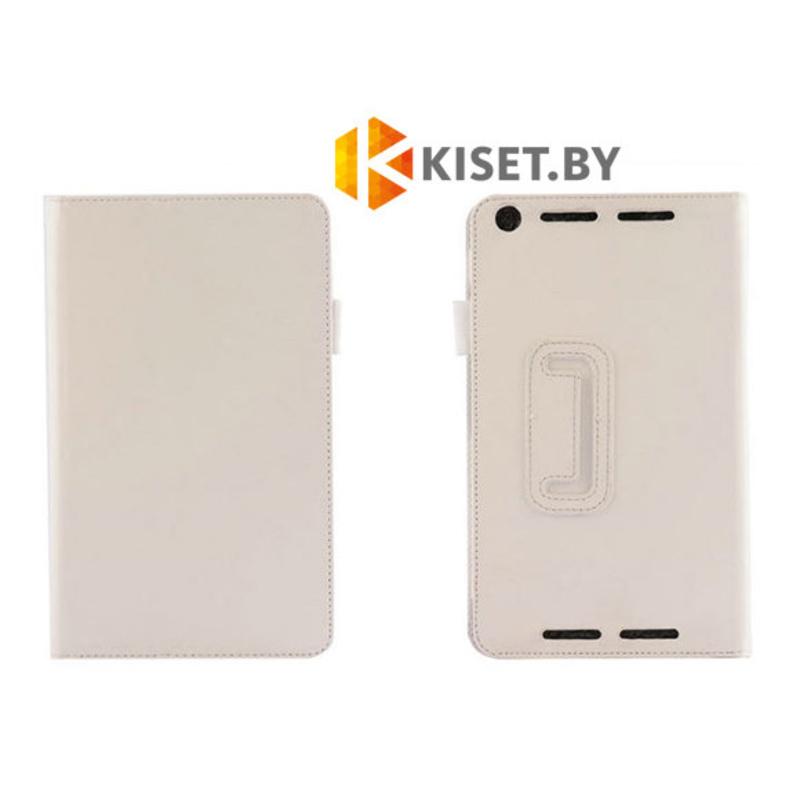 Классический чехол-книжка для Asus Fonepad 7 FE375, белый