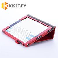 Классический чехол-книжка для Asus MeMO Pad 8 ME581CL, красный