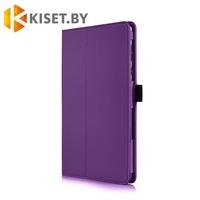 Классический чехол-книжка для ASUS ZenPad 10 Z300 / Z301, фиолетовый