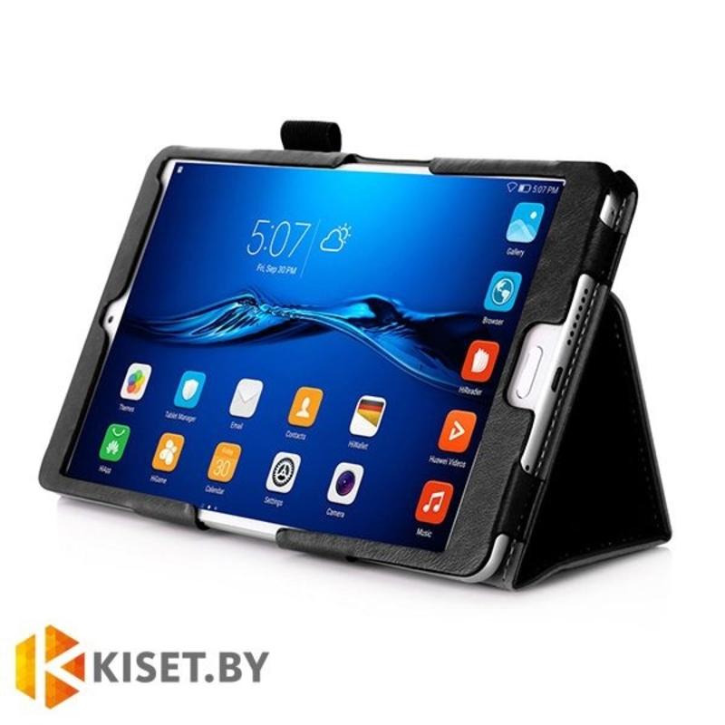 Классический чехол-книжка для Huawei MediaPad M3 8.4, черный