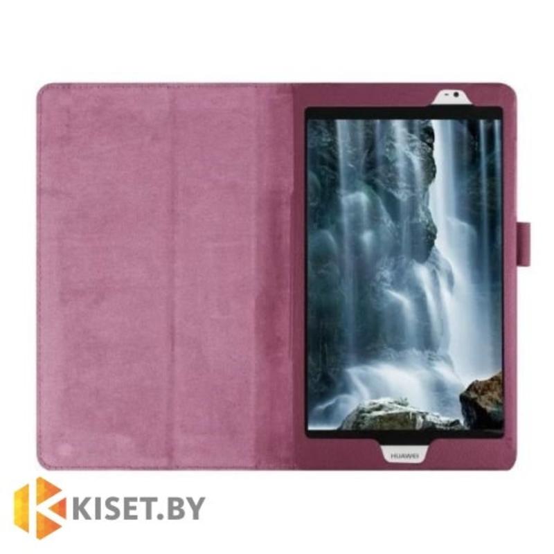 Классический чехол-книжка для Huawei MediaPad M2, фиолетовый