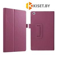 Классический чехол-книжка для Lenovo Tab 2 A10-30 X30 / A10-70 X70, фиолетовый