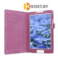 Классический чехол-книжка для Lenovo Tab 2 / Tab 3 A8-50 / TB3-850 фиолетовый