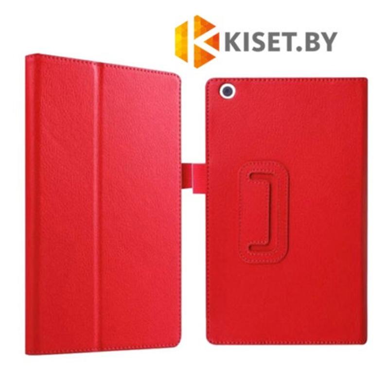 Классический чехол-книжка для Lenovo Tab 2 / Tab 3 A8-50 / TB3-850 красный